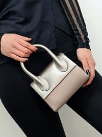 Silver - Clutch - Clutch Bags / Handbags