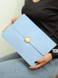 Blue - Satchel - Clutch Bags / Handbags