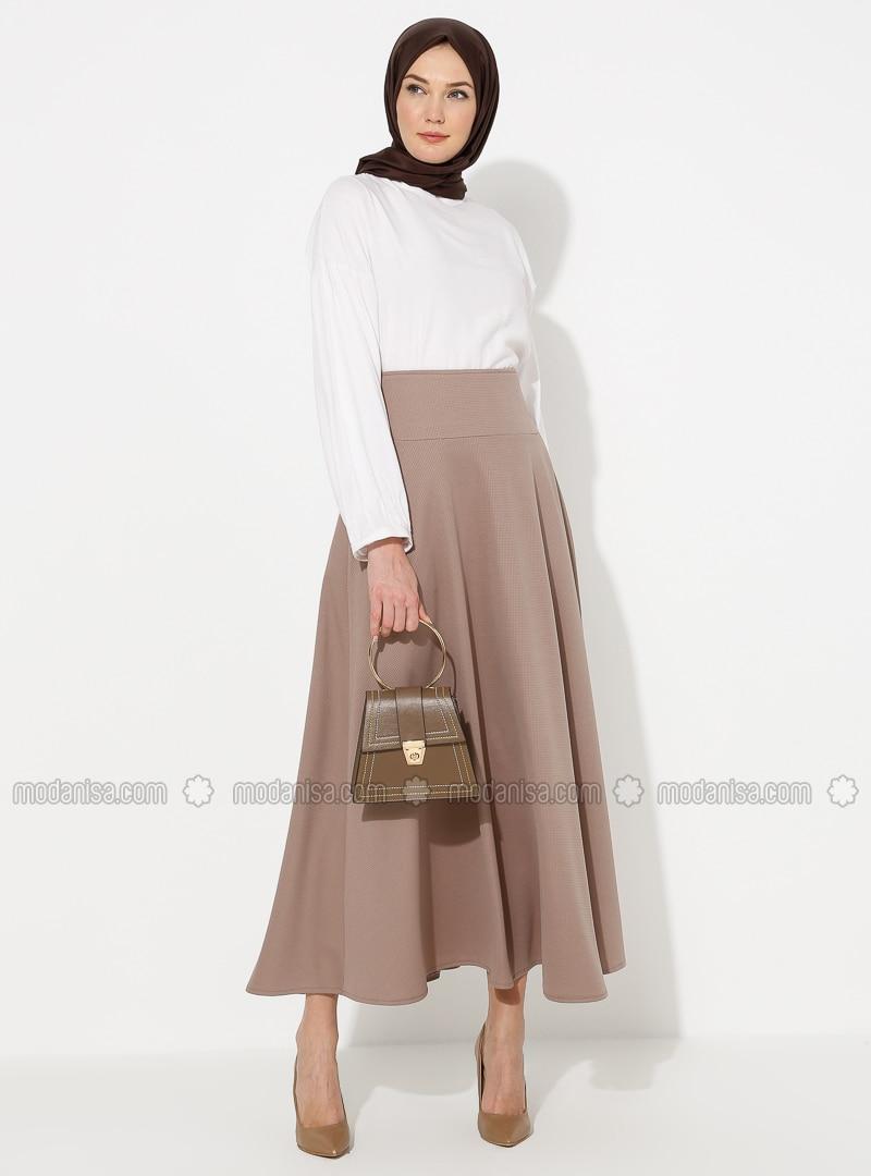Mink - Half Lined - Skirt