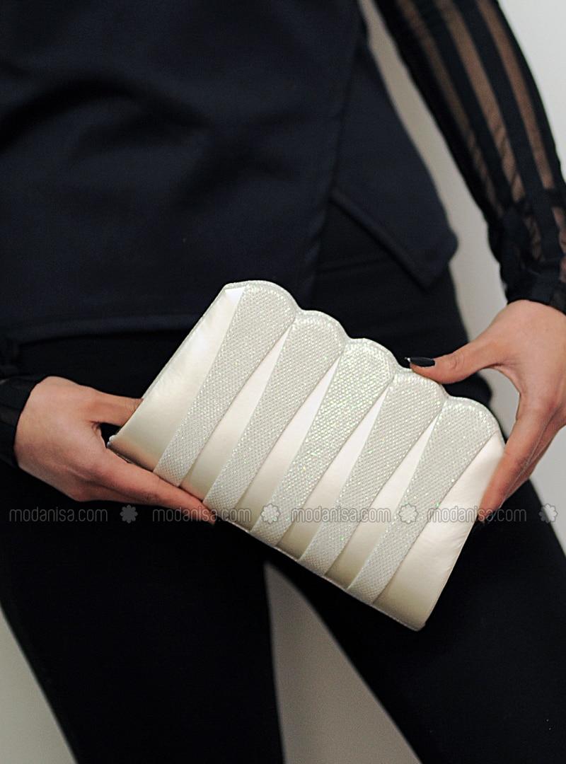 Ecru - Clutch - Clutch Bags / Handbags