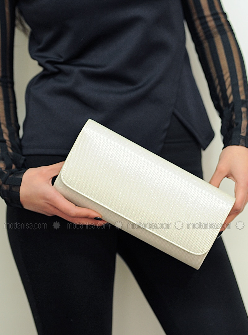 Ecru - Clutch - Clutch Bags / Handbags