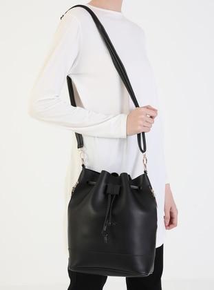 Black - Black - Satchel - Cross Bag