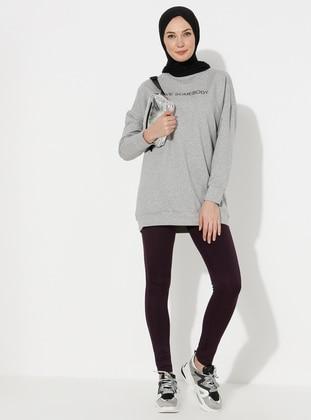 Purple - Gym Leggings - ziwoman