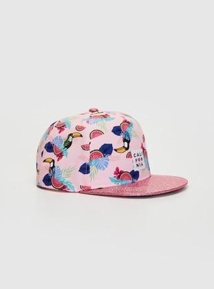 Pink - Girls` Hat