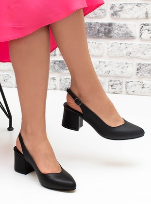 Black - Sandal - High Heel - Heels