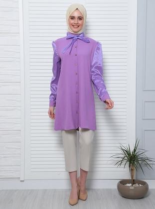 Lilac - Shawl Collar - Tunic