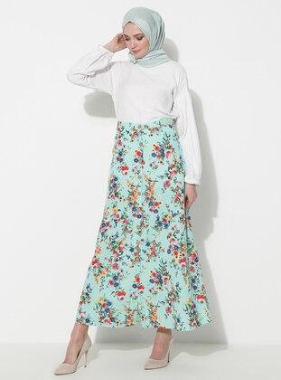 Green - Unlined - Skirt