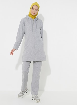 Gray -  - Tracksuit Set
