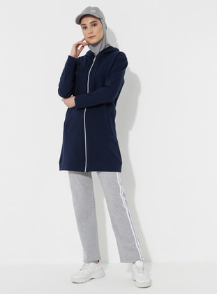 Navy Blue -  - Tracksuit Set