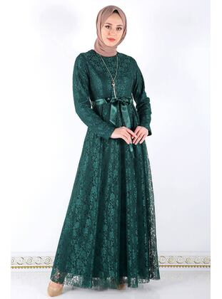 Emerald - Muslim Plus Size Evening Dress