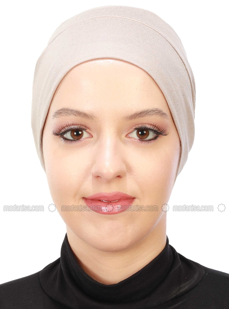 Mink - Plain - Combed Cotton - Bonnet