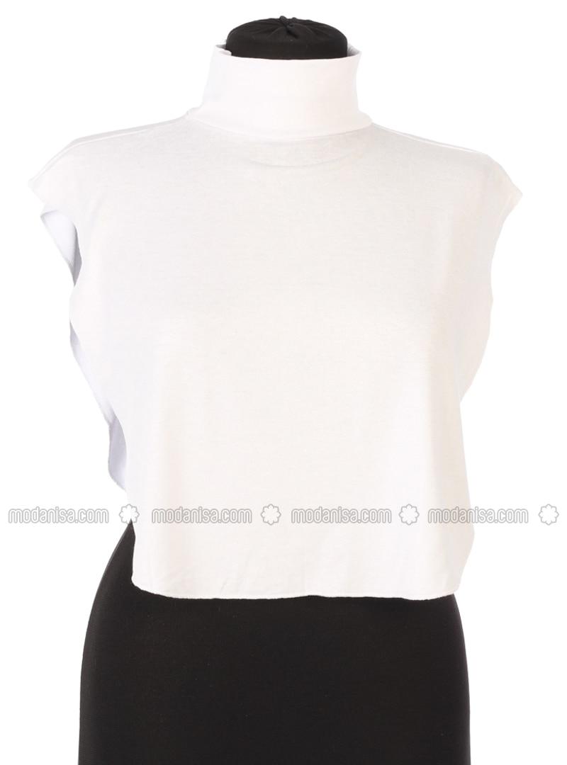 White - Combed Cotton - Neckcover