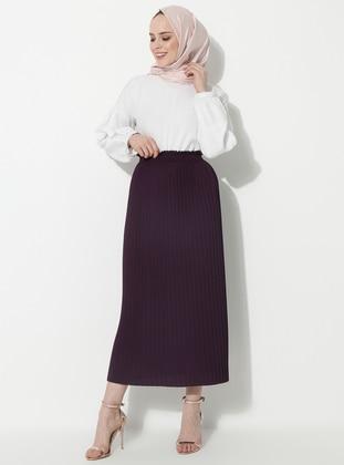 Plum - Unlined - Skirt
