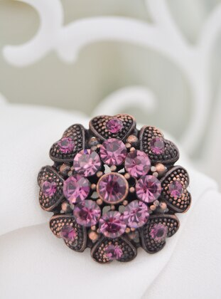 Purple - Brooch