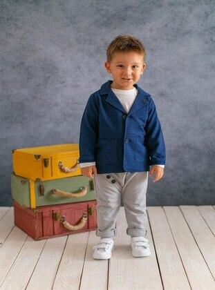Navy Blue - baby jackets