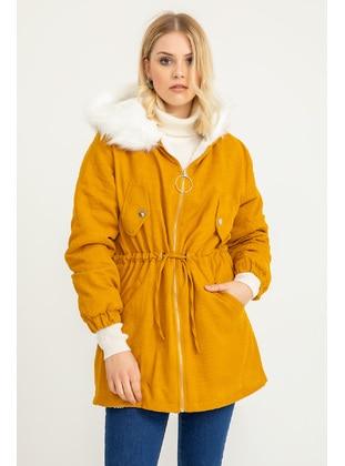 Mustard - Puffer Jackets