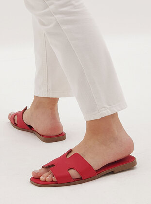 Red - Slippers