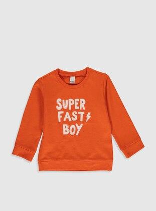 Orange - Baby Sweatpants