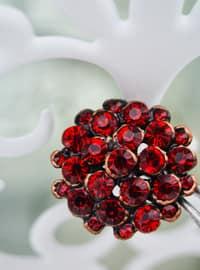 Red - Brooch
