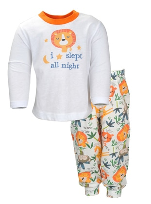 Multi - Crew neck -  - Multi - Boys` Pyjamas
