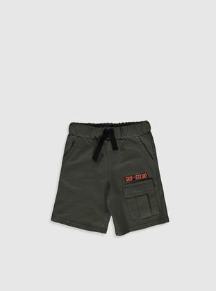 Khaki - Boys` Shorts - LC WAIKIKI