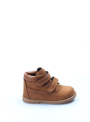 Tan - Boys` Boots - Fast Step