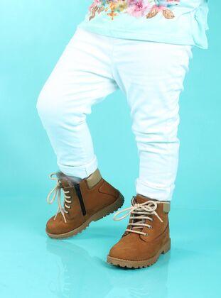 Tan - Boot - Boys` Boots
