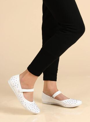 White - Girls` Shoes - Fast Step