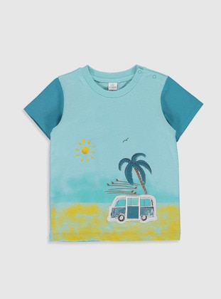 Turquoise - baby t-shirts