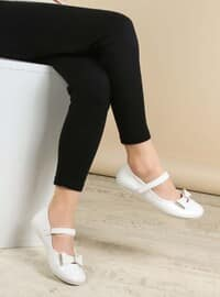 White - Casual - Girls` Shoes