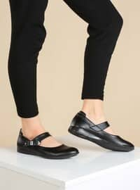 Black - Casual - Girls` Shoes