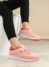 Salmon - Fuchsia - Sport - Casual - Girls` Shoes