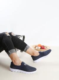 Navy Blue - Sport - Sports Shoes