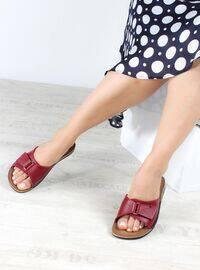 Maroon - Sandal - Slippers