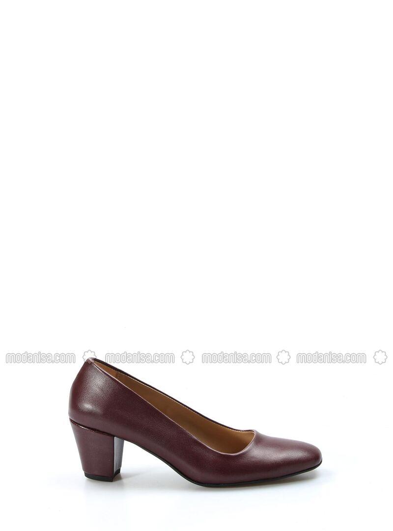 Maroon - High Heel - Shoes