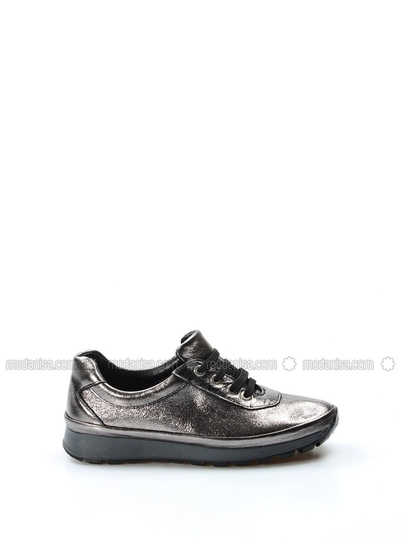 Silver Tone - Casual - Shoes