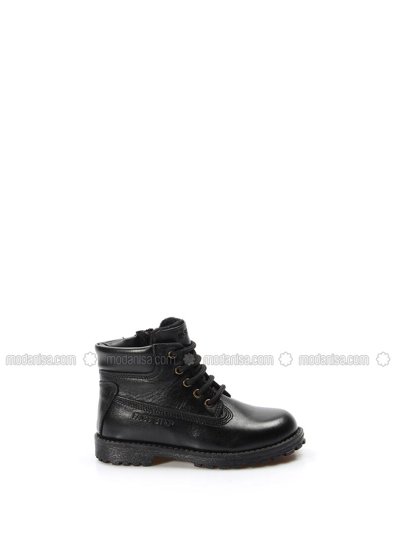 Black - Boot - Boys` Boots