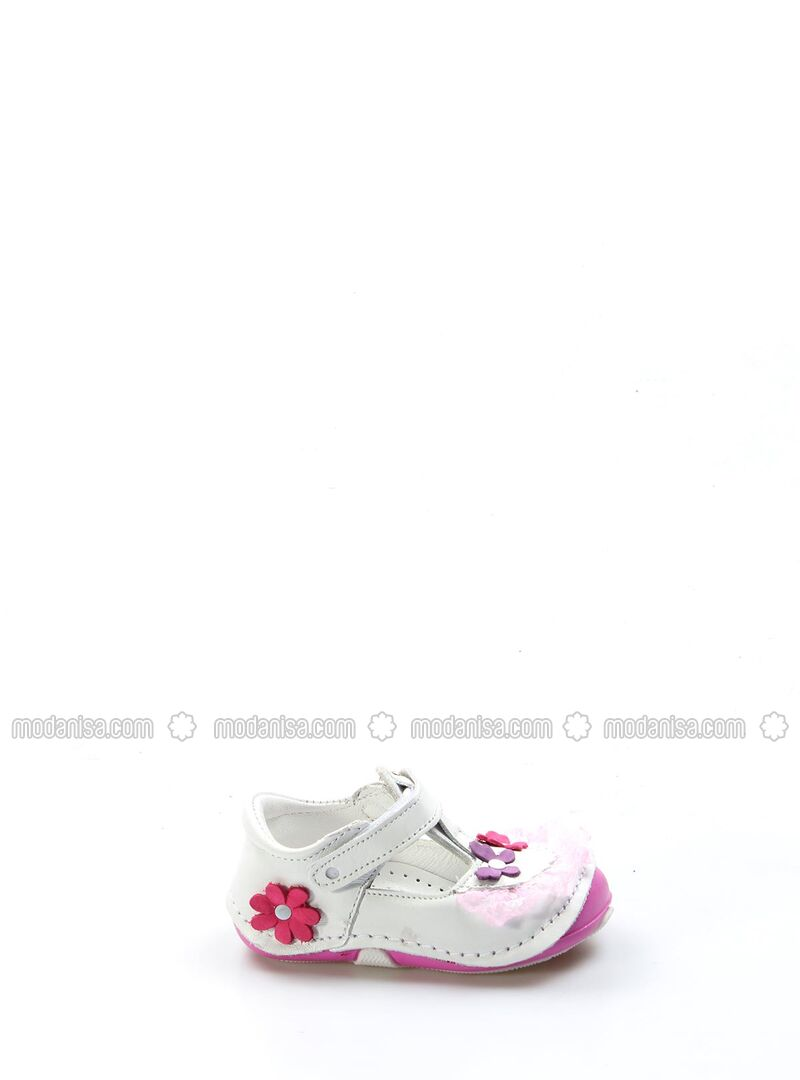 White - Sport - Casual - Girls` Shoes