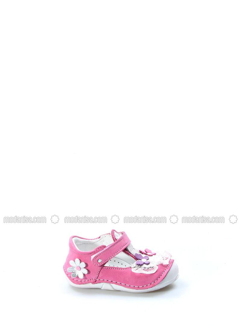 Fuchsia - Pink - Casual - Girls` Shoes