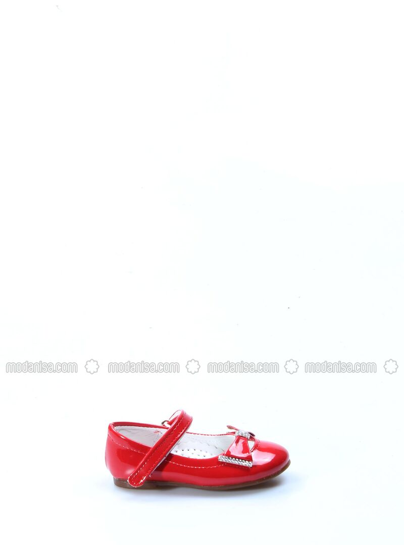 Red - Girls` Shoes