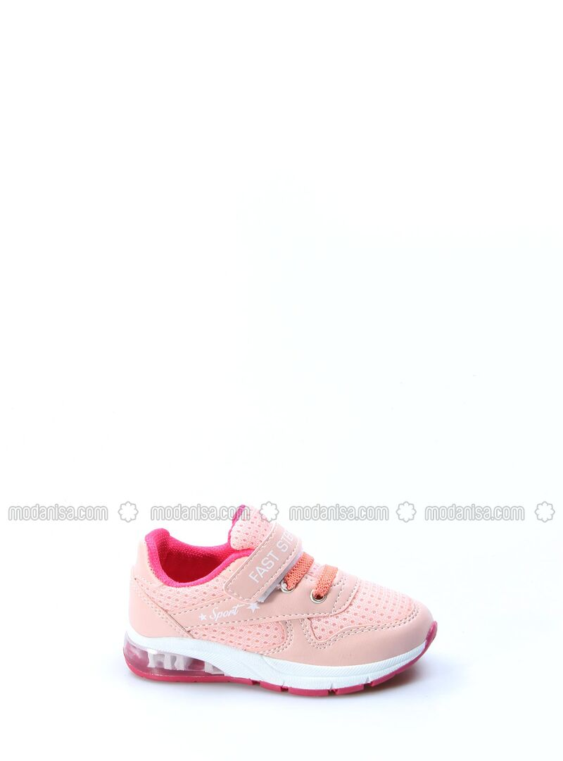 Salmon - Fuchsia - Sport - Girls` Shoes