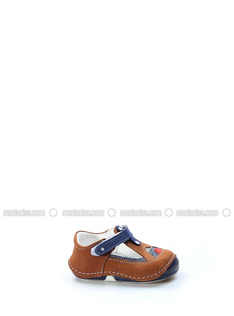 Tan - Casual - Girls` Shoes