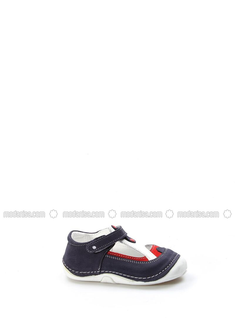 Navy Blue - Girls` Shoes