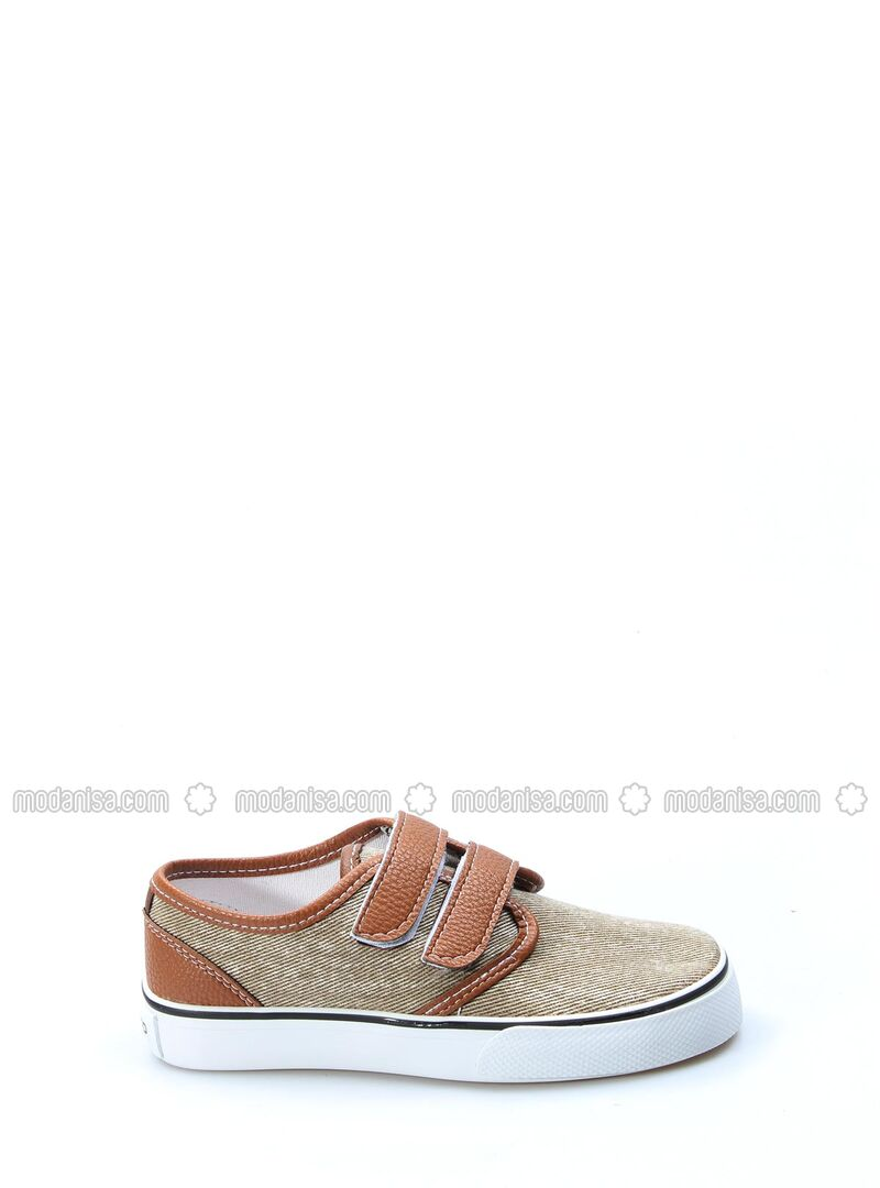 Brown - Casual - Girls` Shoes