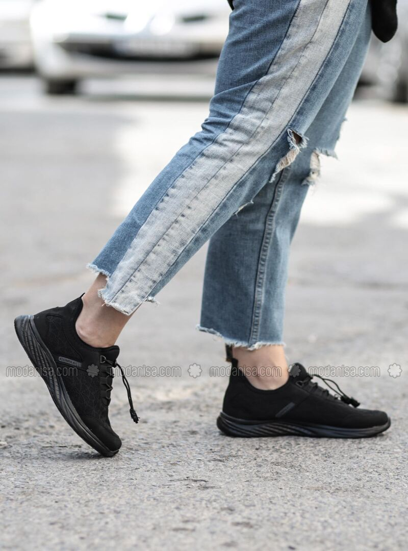 Black - Sport - Casual - Sports Shoes