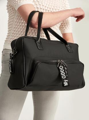 Black - Shoulder Bags - MOON