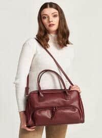 Maroon - Shoulder Bags