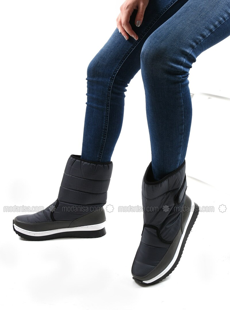 Gray - Boots