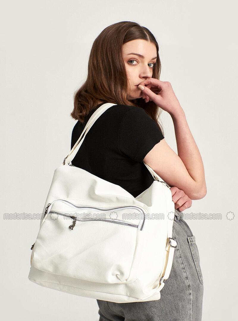 White - Shoulder Bags