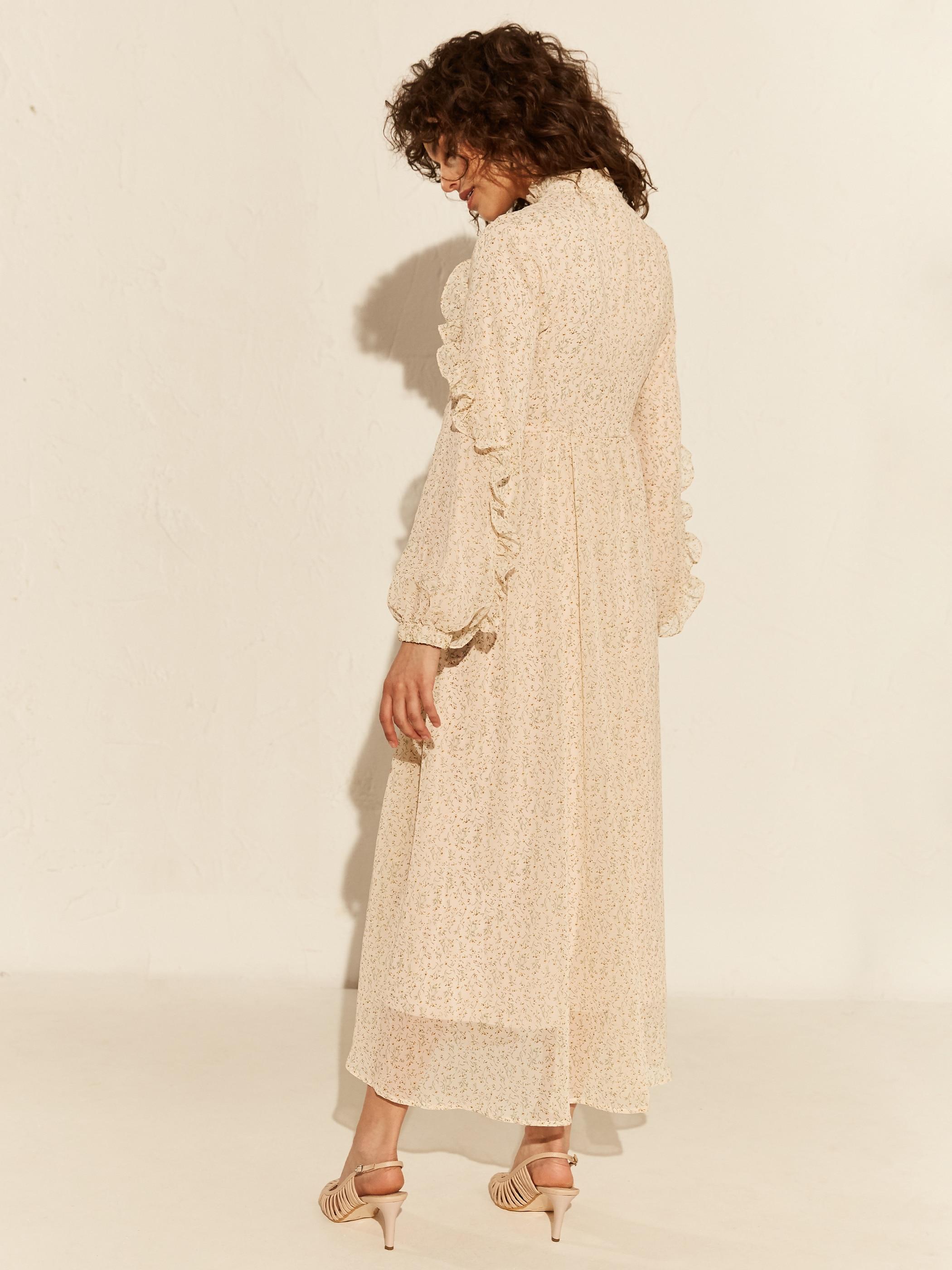 Tesettür Elbise LC WAIKIKI Pembe Kadın 38